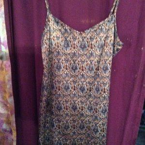 Silky sun dresss